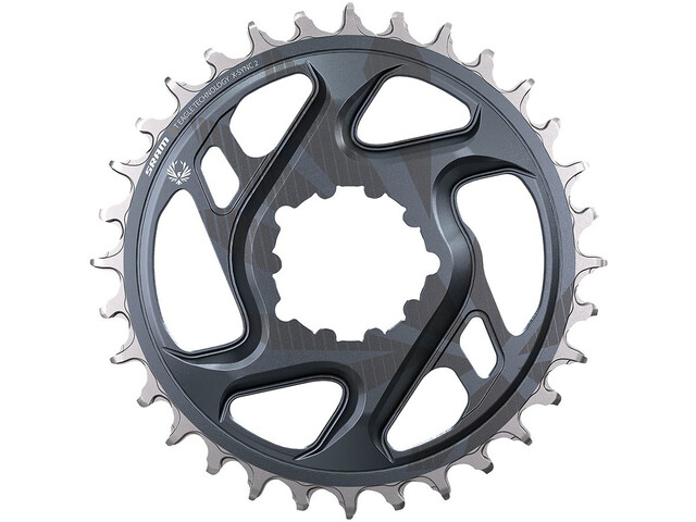 SRAM X-Sync 2 Eagle Chainring 12-speed -4mm Offset DM, grey